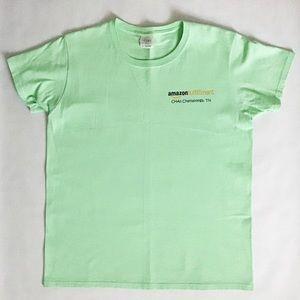 Amazon Fulfillment Center graphic t-shirt green M